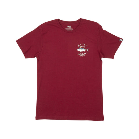 Big Blue Burgundy Premium S/S Tee