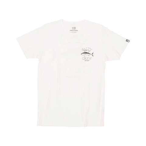 Big Blue White Premium S/S Tee