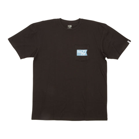 Navigation Black Premium S/S Pocket Tee