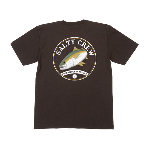 Homeguard Black S/S Boys Tee
