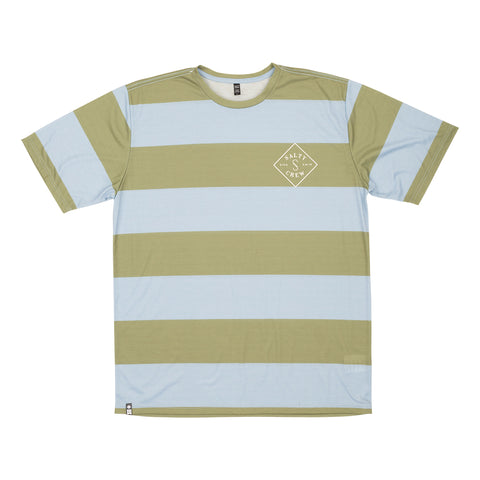 Helm Pale Blue Heather S/S Tech Tee