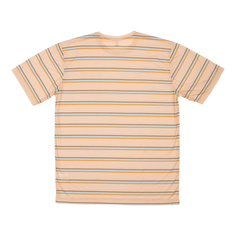 Beachbreak Camel Heather S/S Tech Knit