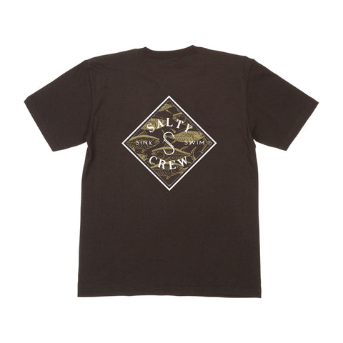 Tippet Seaside Black S/S Boys Tee