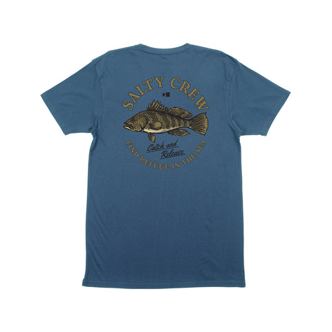 Baybass Harbor Blue S/S Tee