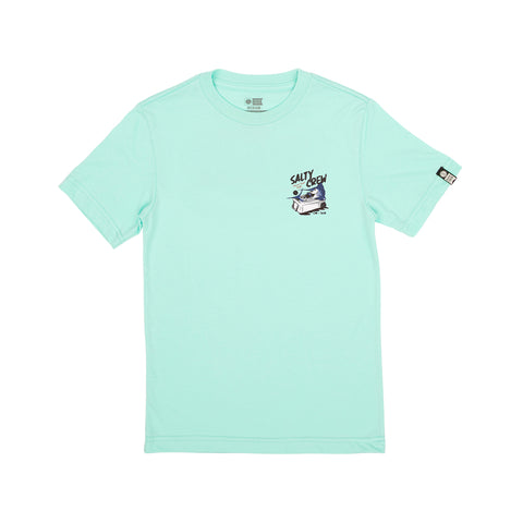 Chillin Sea Foam S/S Boys Tee