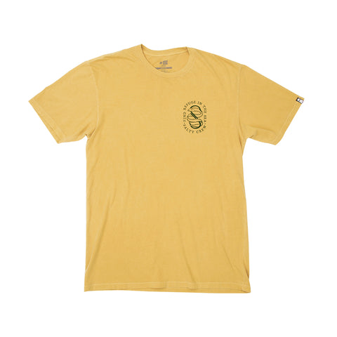 Lurker Gold S/S Overdyed Tee