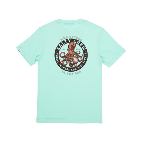 Deep Reach Sea Foam S/S Boys Tee