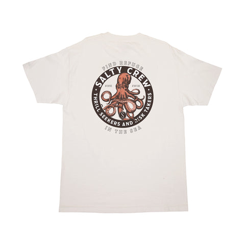 Deep Reach White S/S Tee