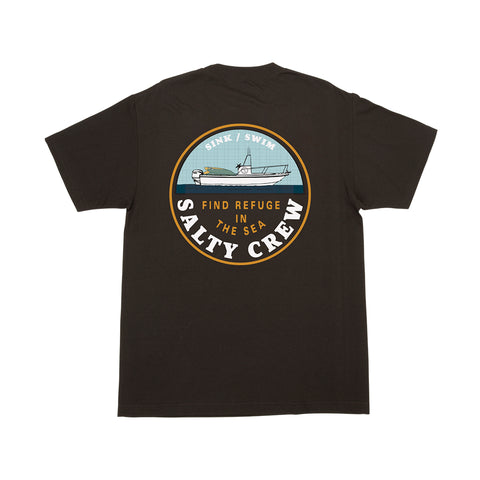 Dawn Patrol Black S/S Tee