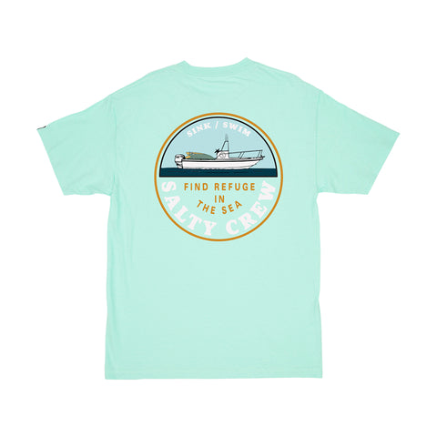 Dawn Patrol Sea Foam S/S Tee
