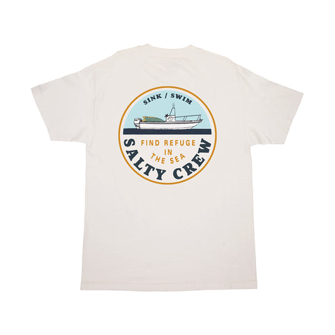 Dawn Patrol White S/S Tee