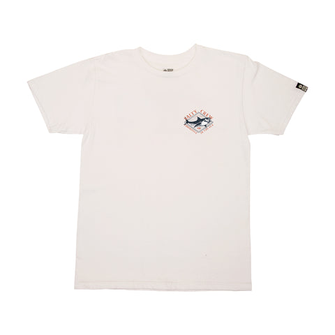 Deadeye White S/S Boys Tee