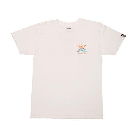 Cruiser White S/S Boys Tee