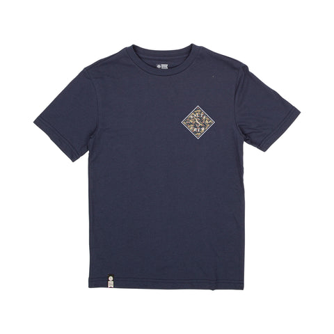 Tippet Palms Navy Boys S/S Tee
