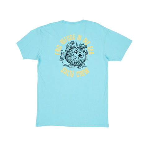 Skewered Pacific Blue S/S Premium Tee