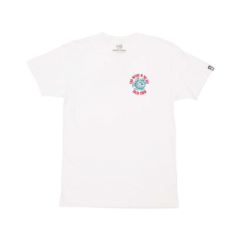 Skewered White S/S Premium Tee