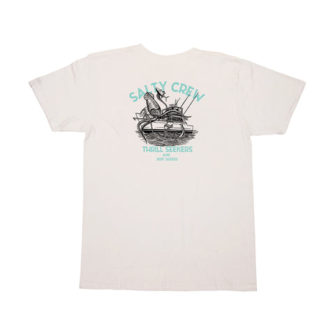 Deepwater Boys White S/S Tee