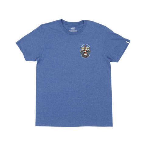 Beacon Blue Heather S/S Standard Tee