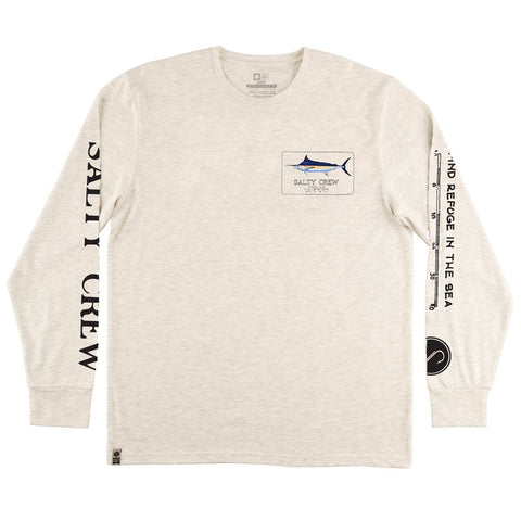 Marlin Mount White UV L/S Tee