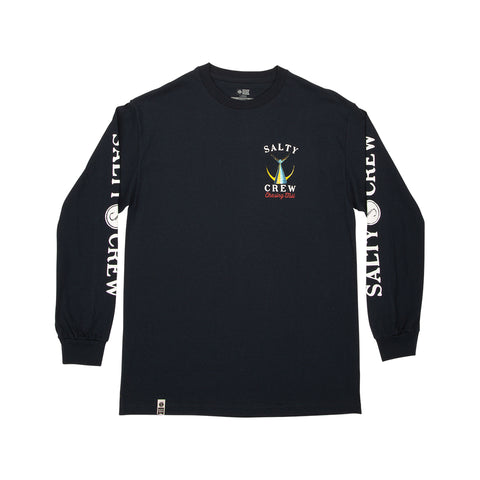 Tailed Navy L/S Tech Tee