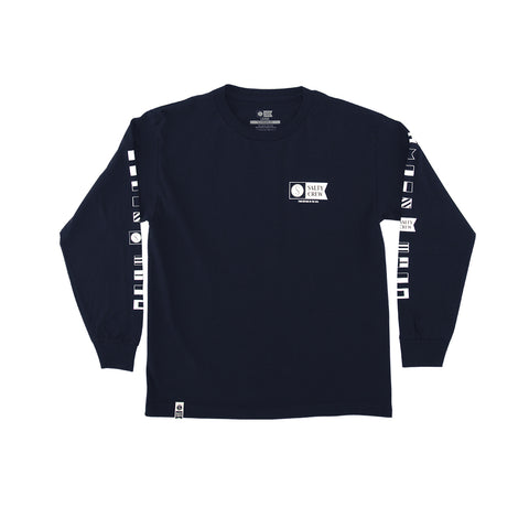 Alpha Boys Navy L/S Tee