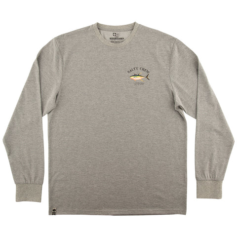 Ahi Mount Athletic Heather UV L/S Tee