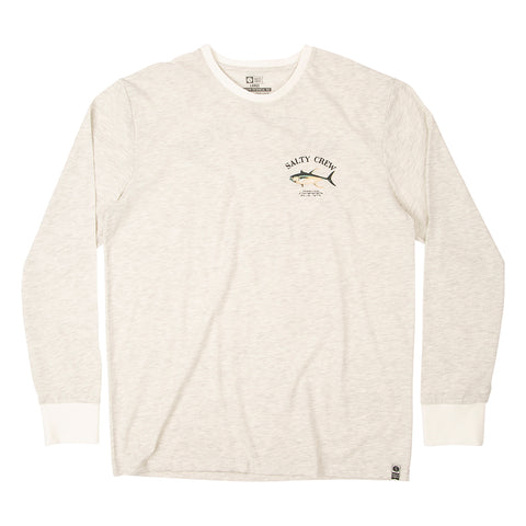Ahi Mount White UV L/S Tee