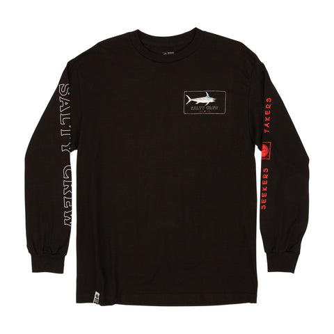Salty Crew men's long sleeve t-shirt.