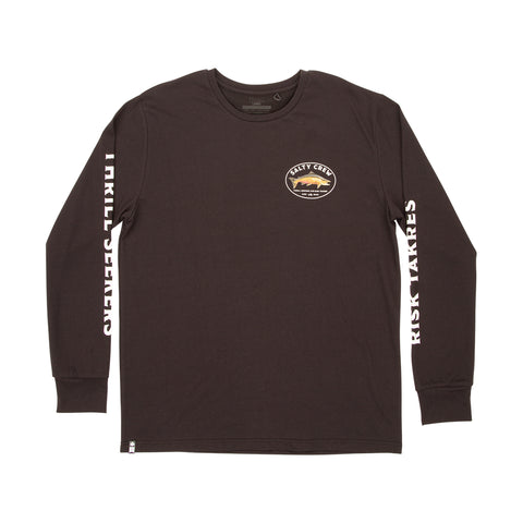 King Sal Black UV LS Tee
