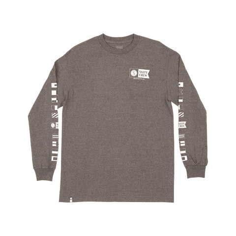 Alpha Charcoal Heather L/S Tee