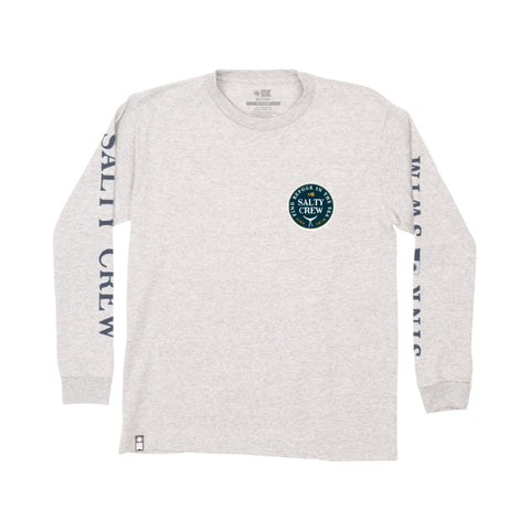 Fathom Athletic Heather L/S Boys Tee