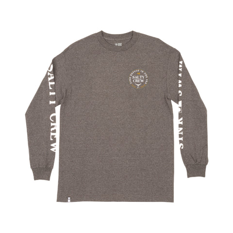 Fathom Charcoal Heather Standard L/S Tee
