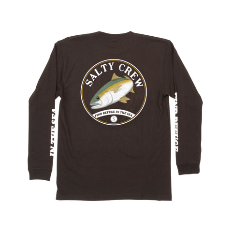 Homeguard Black L/S Boys Tee