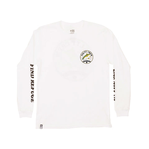 Homeguard White L/S Boys Tee
