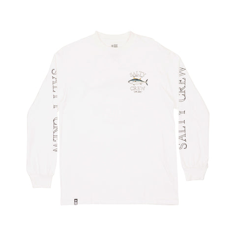 Big Blue White Standard L/S Tee
