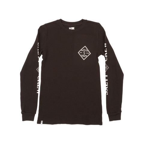 Tippet Black Boys L/S Thermal Tee