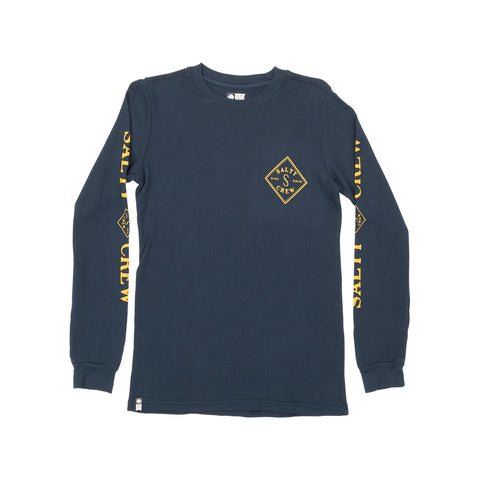 Tippet Navy Boys L/S Thermal Tee