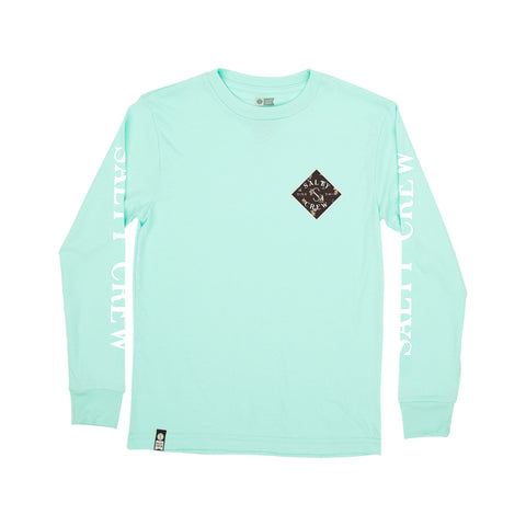 Tippet Seaside Sea Foam L/S Boys Tee