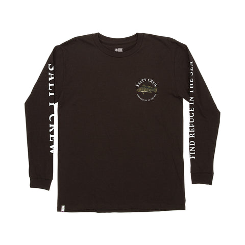 Baybass Black L/S Boys Tee