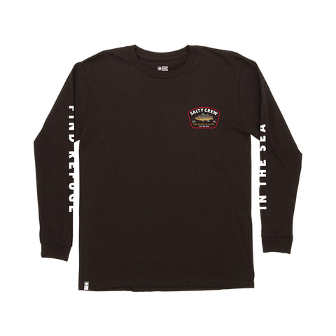 Creature Black L/S Boys Tee