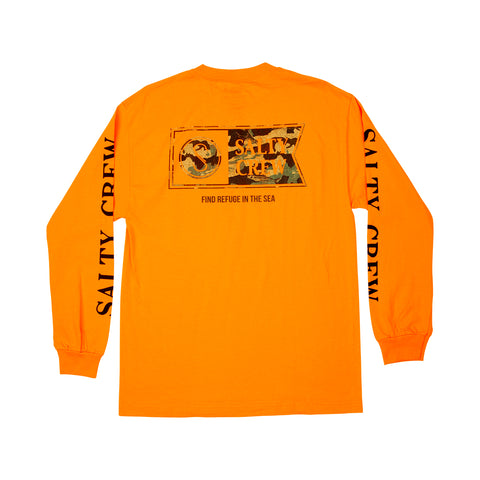 Alpha Decoy Orange L/S Tee