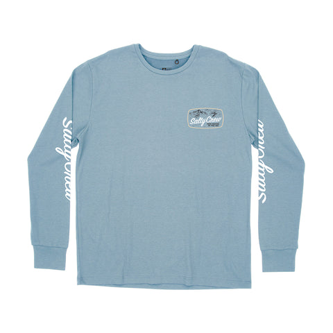 Tuna Isle Harbor Blue L/S Tech Tee