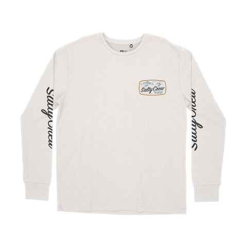 Tuna Isle White L/S Tech Tee