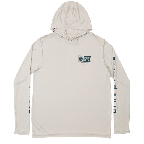 Alpha Poly Boys Silver Tech Hood