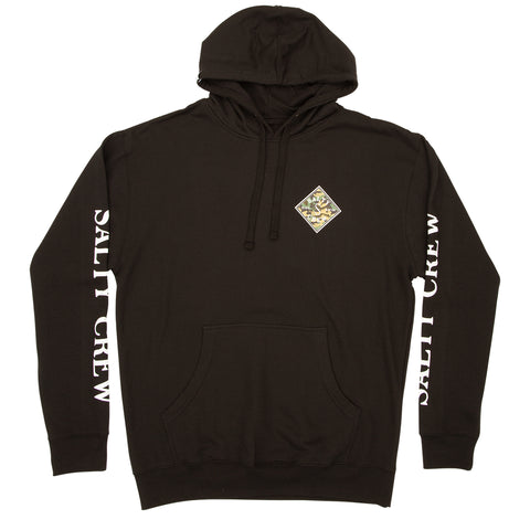 Latitude Black Hood Fleece