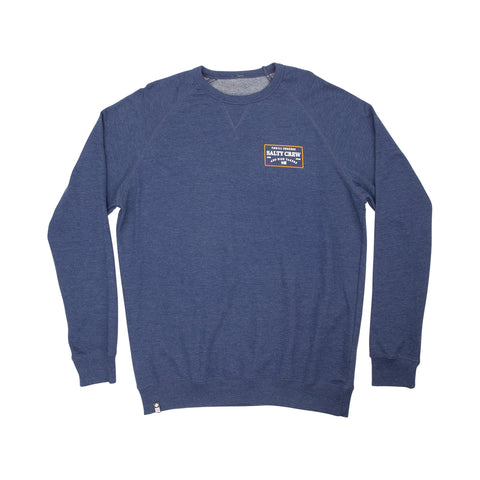 Topstitch Navy Crew