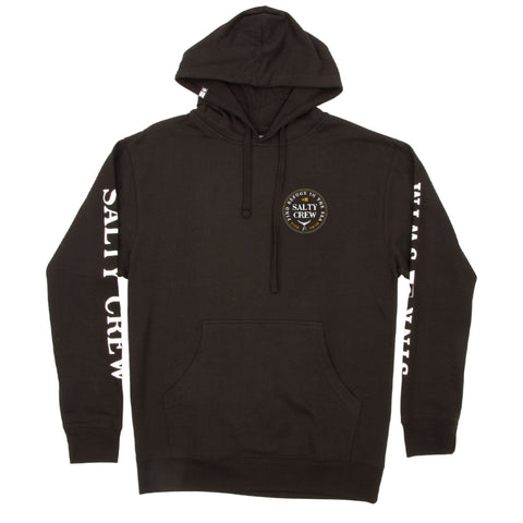 Fathom Black Hood Fleece