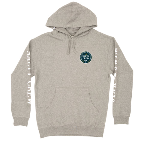 Fathom Gunmetal Heather Hood Fleece