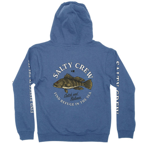 Baybass Royal Heather Boys Fleece