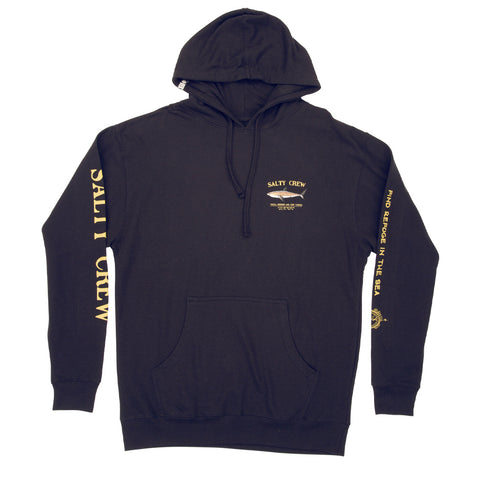 Bruce Navy Hood Fleece